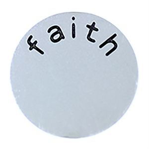 Picture of 'Faith' Large Silver Coin